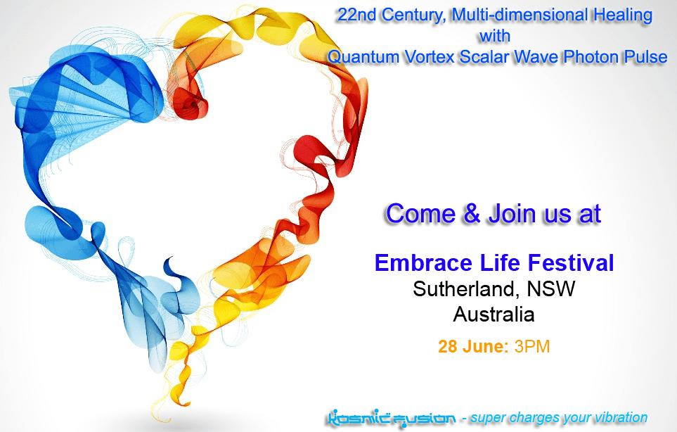 22nd Century Multi-dimensional Healing with Quantum Vortex Energy Sutherland Australia June 2015
